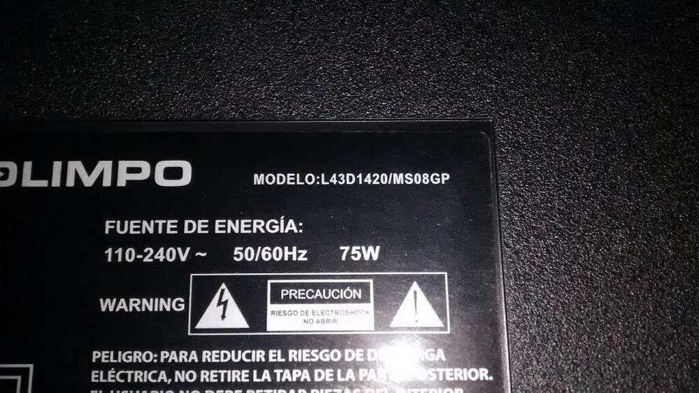 Tv Olimpo L43d1420ms08gp para Repuesto