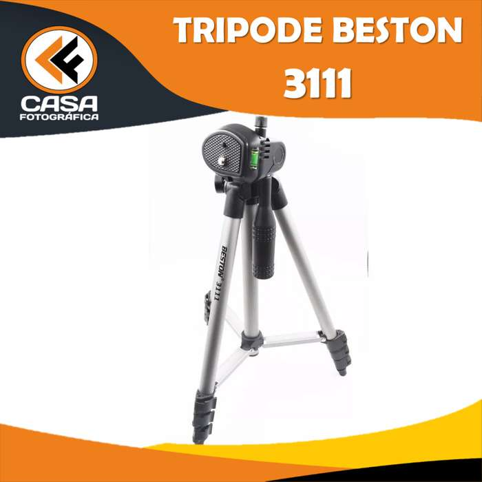TRIPODE BESTON 3111 COLOR GRIS MAS ESTUCHE