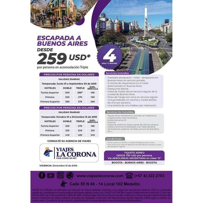 Buenos Aires - Viajes la Corona 21