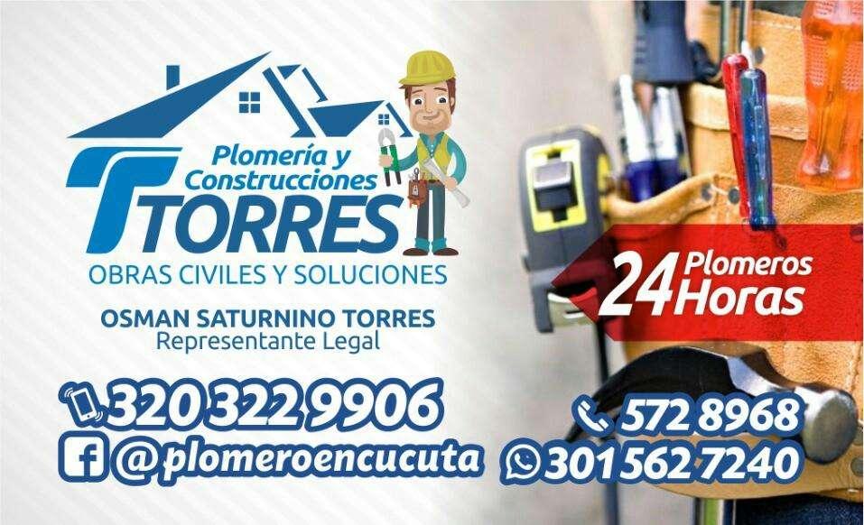 PLOMERO EN CÚCUTA, SE DESTAPAN TODO TIPO DE TUBERÍAS SIN ROMPER. 3203229906