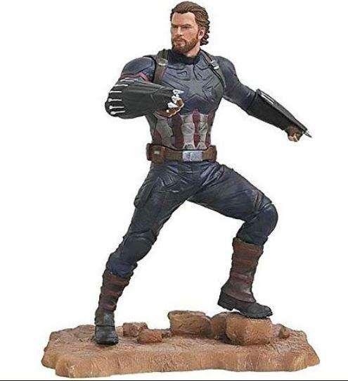 Marvel galería de Vengadores: infinity Guerra Capitán América Estatua