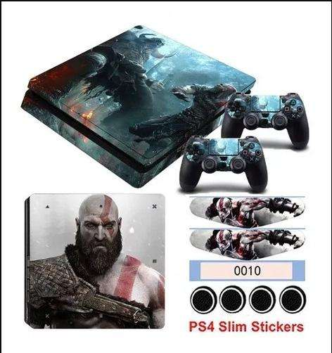 Kit de Skins y Protectores de god of War 4