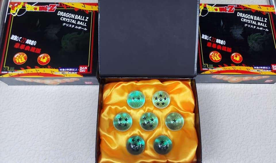 Esferas de dragon ball varios colores