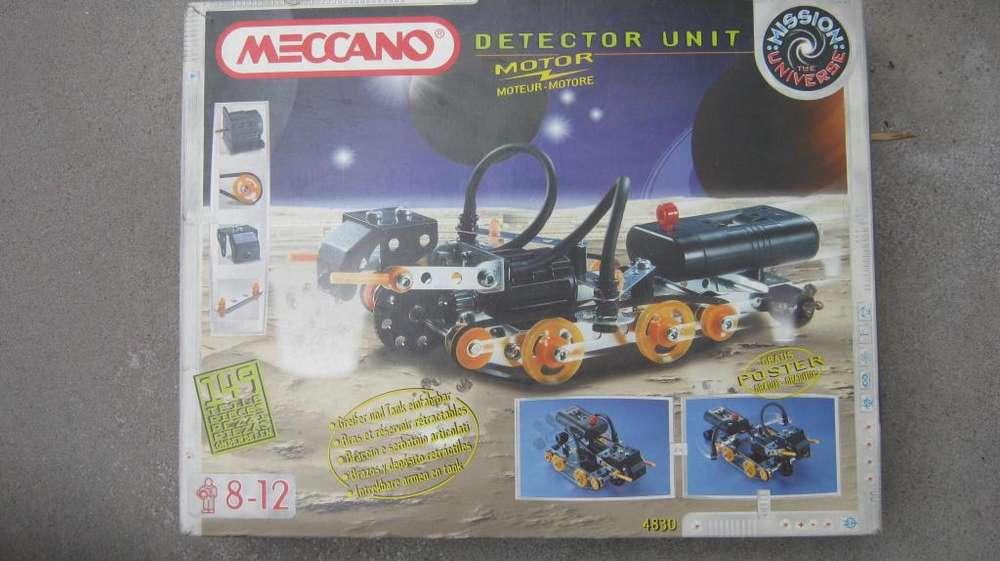 Meccano detector unit juguete interactivo