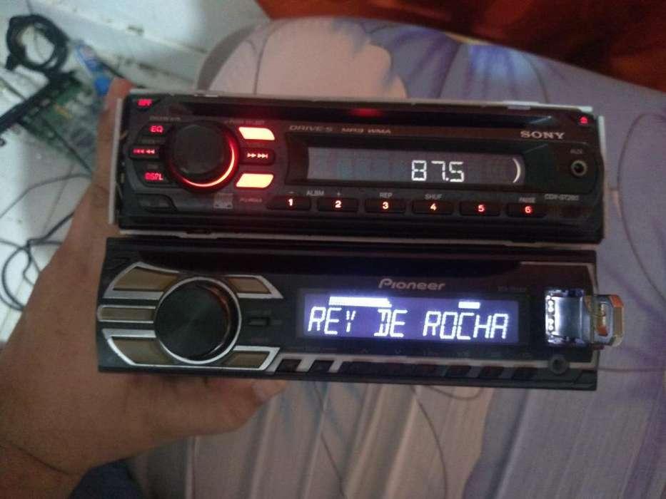 Vendo Dos Radio Un Pioneer Y Uno Sony