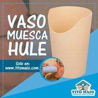 Vaso muesca de Plastico