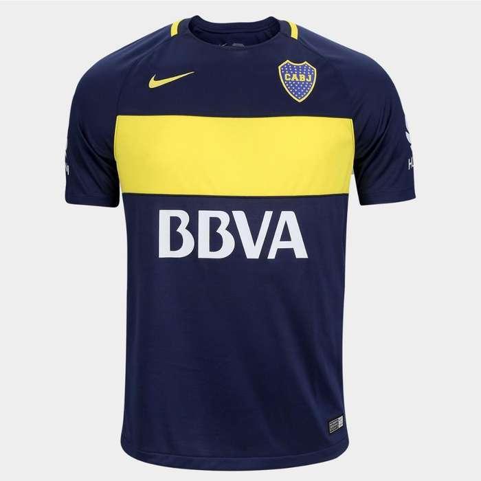Camiseta Boca Junior Talle L