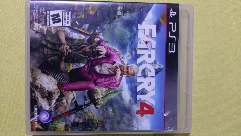 Far Cry 4 para Ps3 10/10