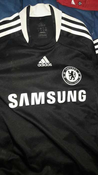Camiseta Chelsea Negra