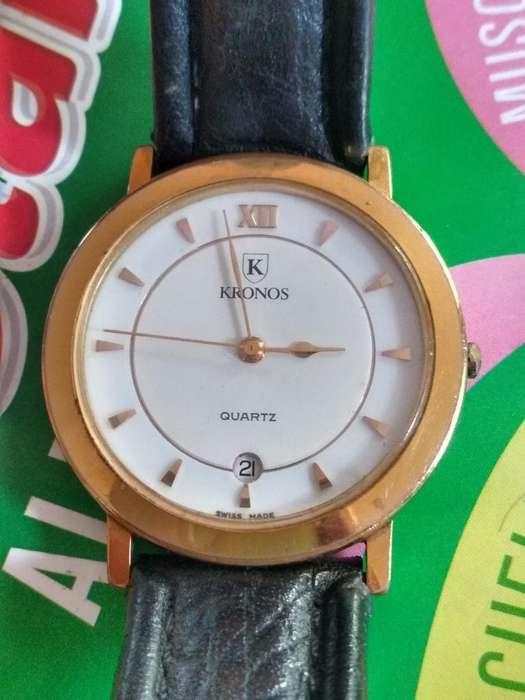 Reloj Kronox en Oro 10 Micras Ganga