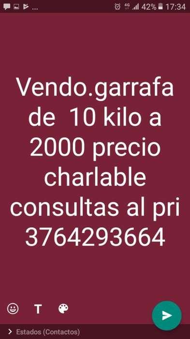 Vendo Garrafa 3764293664 Precio Charlbl