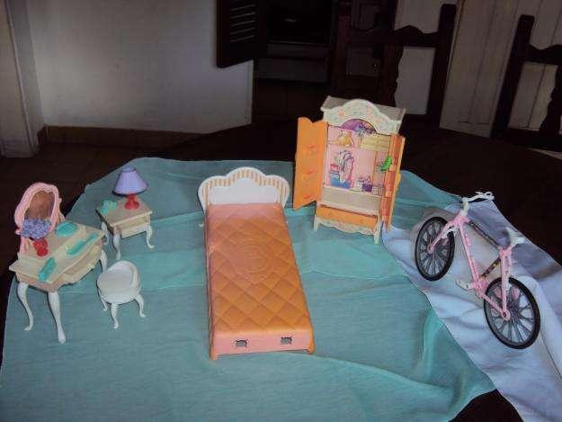 Juego de dormitorio original de Barbie