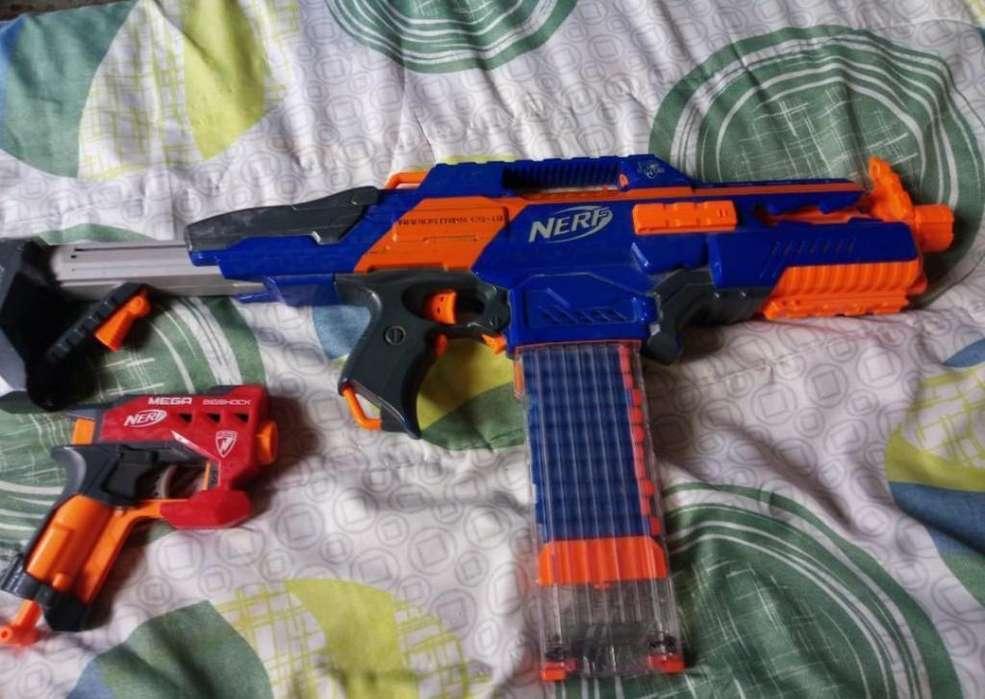 Nerf C18 con Mega