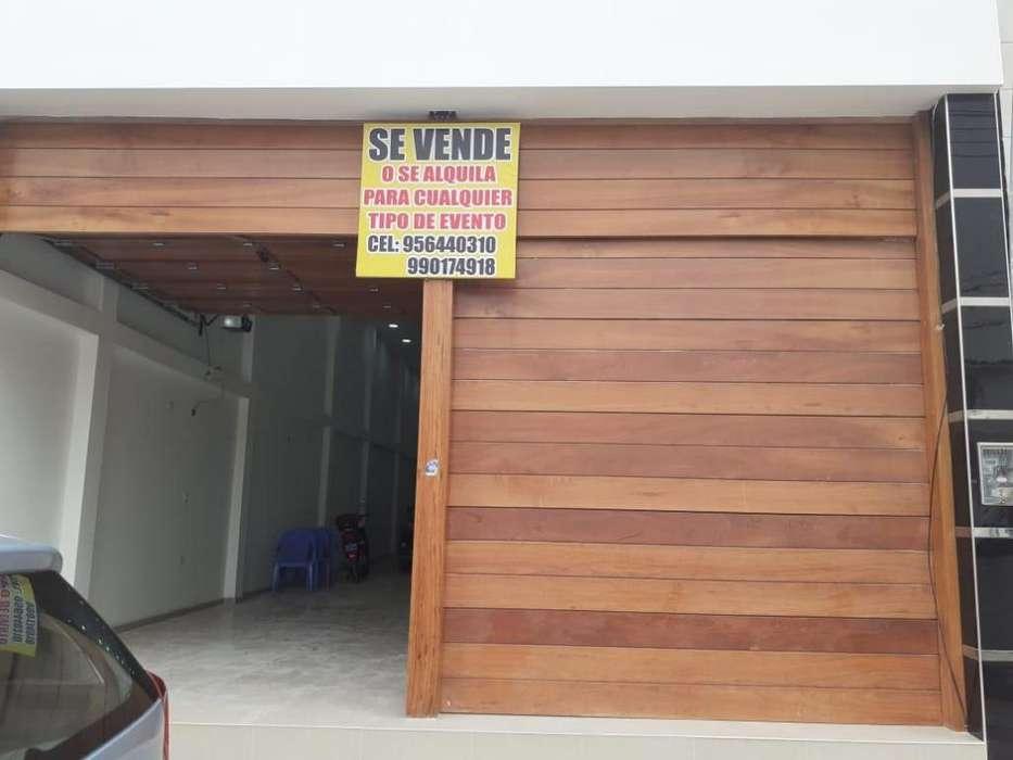 Alquiler De Local Comercial En Chiclayo Lambayeque