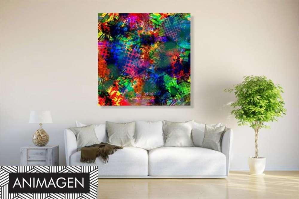 Cuadro abstracto moderno 2181