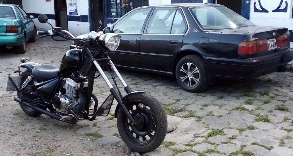 moto chopper custom