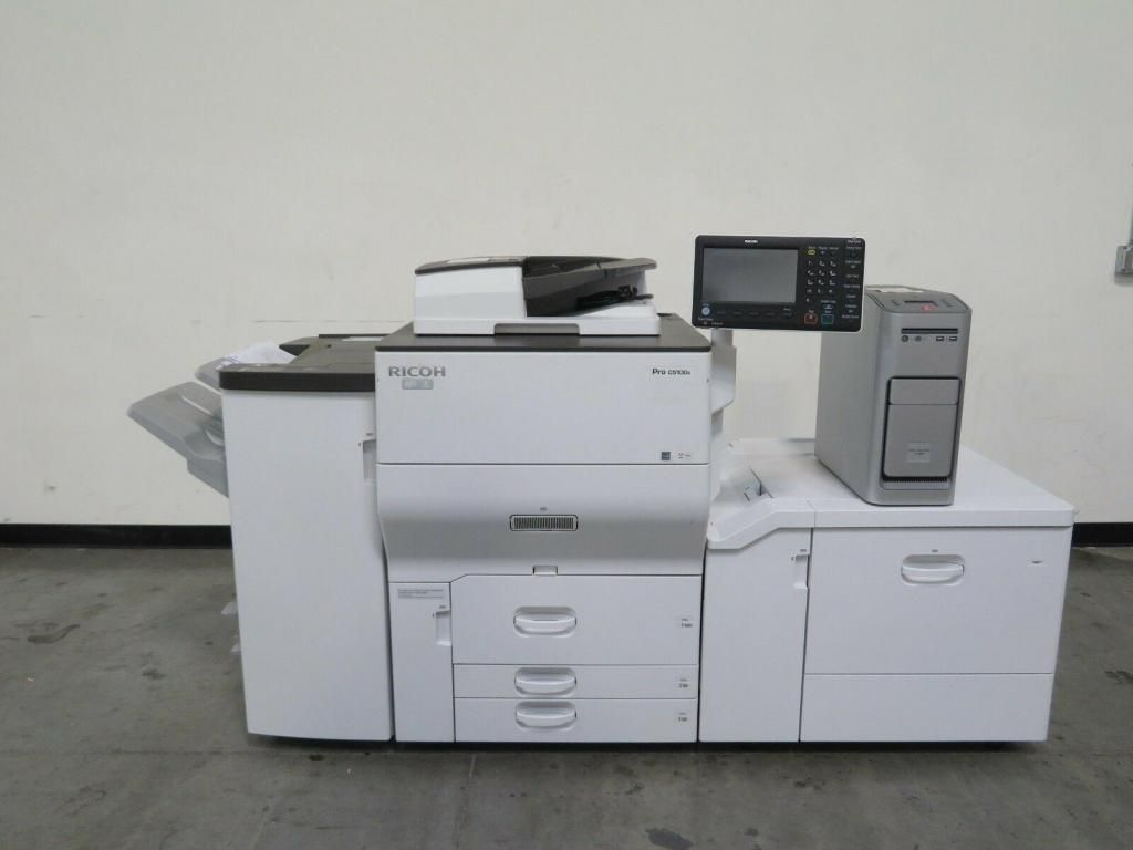 FOTOCOPIADORA - RICOH PRO  C5110s Con mantenimiento general y garantía o pasando copia