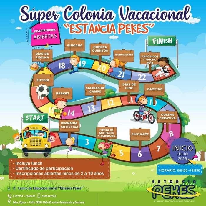 Colonia Vacacional 2019