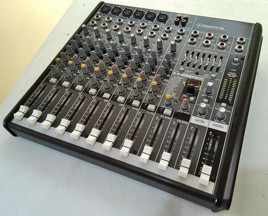 Mackie Profx12 y Pioneer DDJ-RB