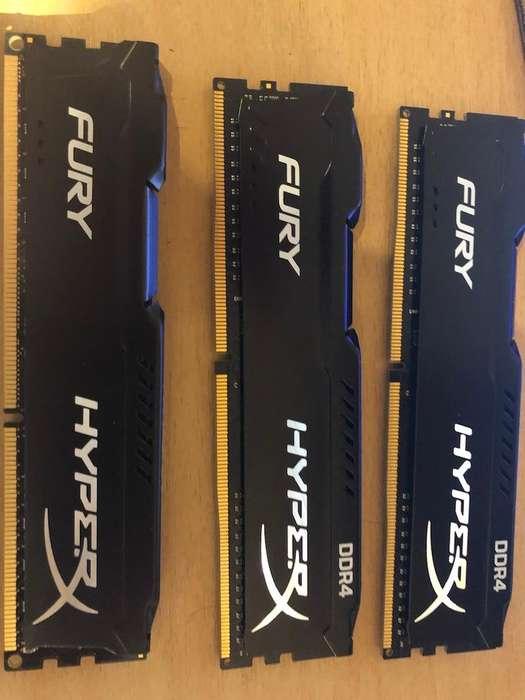 <strong>memoria</strong> DDR3 HyperX Fury 8GB