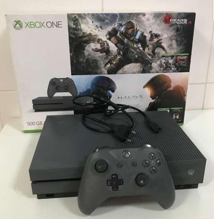 Xbox One S Casi Como Nuevo