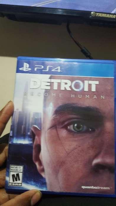 Se Vende O Cambia Detroit Ps4