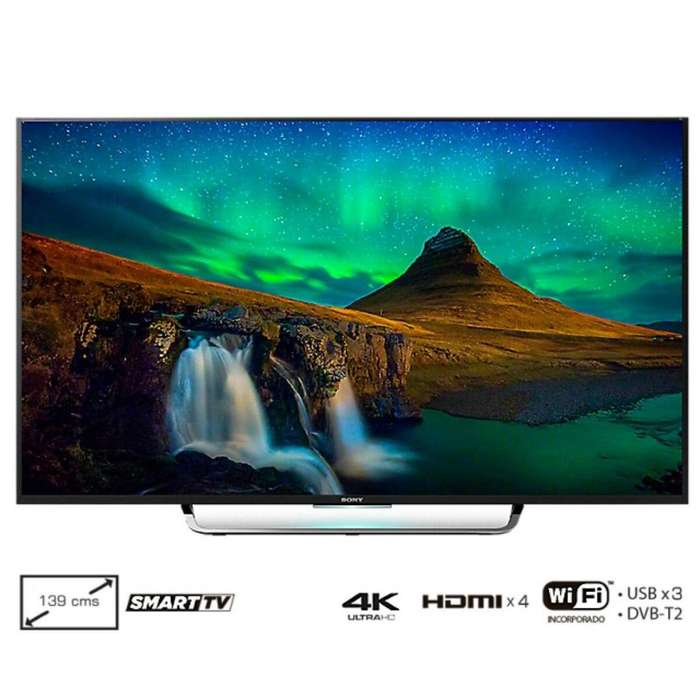 Tv 55 138.8 Cm Led Sony 4k Internet Android sin cheques