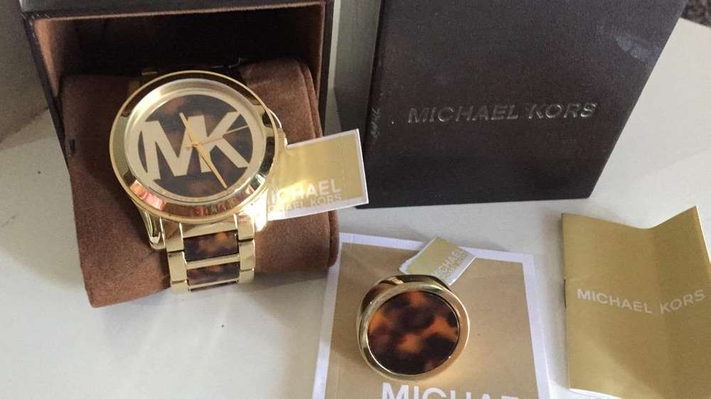 Reloj Y Anillo Mk