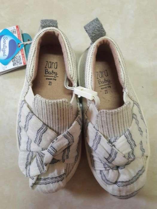 Zapatos Unisex Zara Nuevos