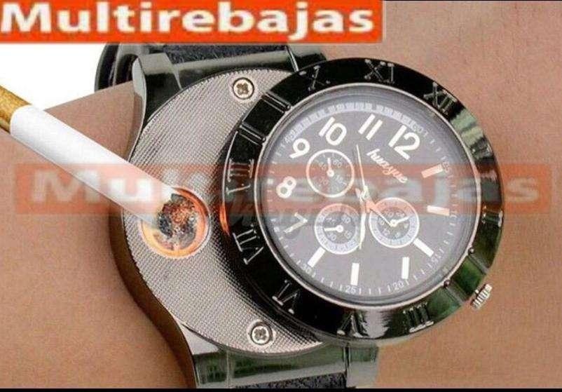 Reloj Encendedor / Reloj Fosforera / Recargable Usb