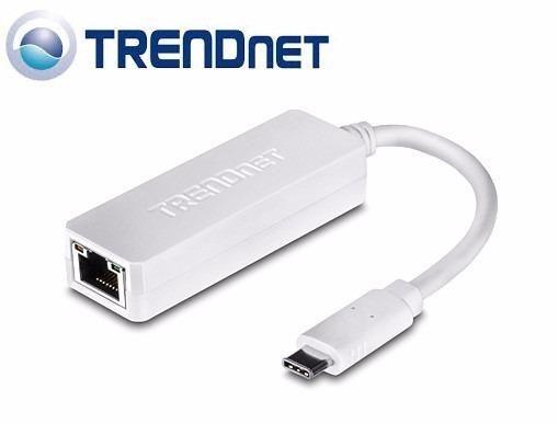 ADAPTADOR USBC A LAN GIGABIT RJ45 TRENDNET TUCETG 10/100/1000 MBPS MAC