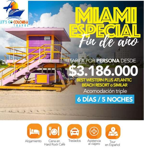 Miami Especial Fin de Año