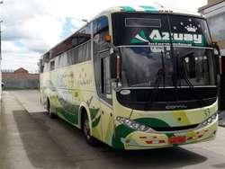 Bus en La Cooperativa Azuay con Acciones