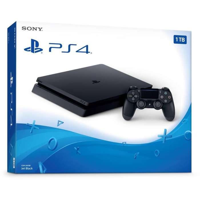 <strong>sony</strong> PlayStation 4 Slim 1Tb HDR, Nuevas con GARANTÍA