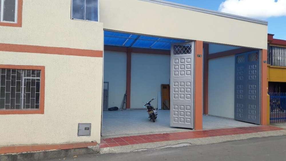 Se Arrienda Casa Bodega en Cajica