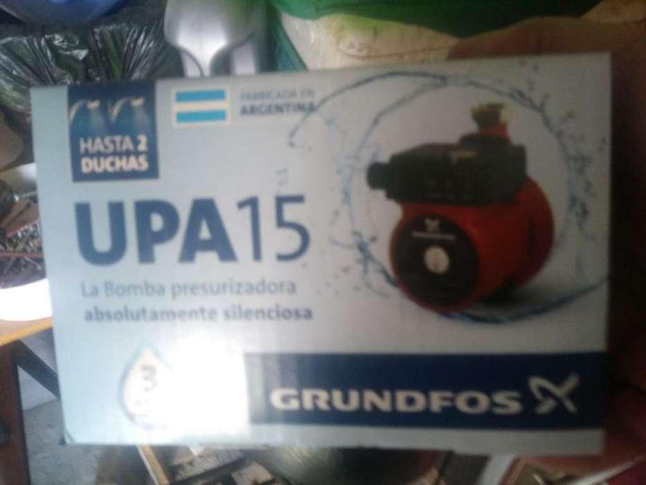 Bomba Presurizadora Upa15 Grundfos Nueva