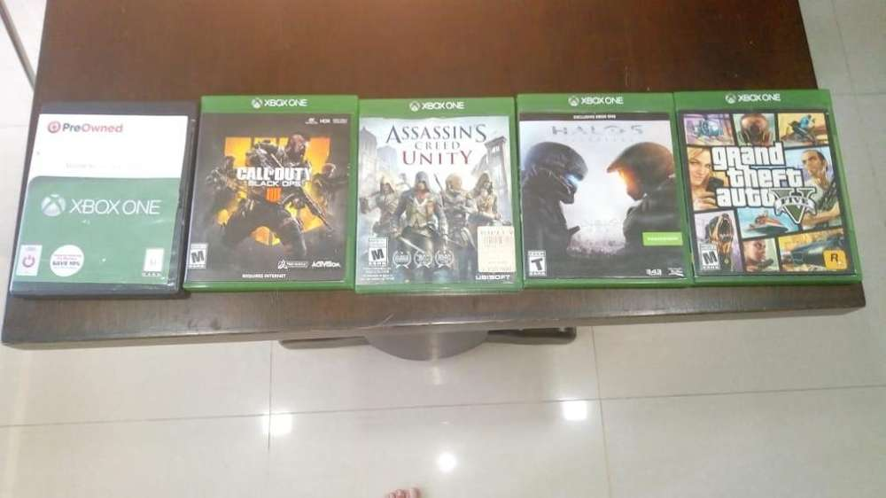 5 Juegos Xbox One