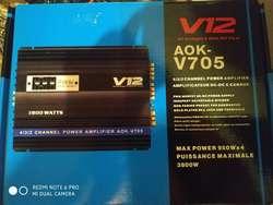Planta de Sonido para Vehículo 12 V
