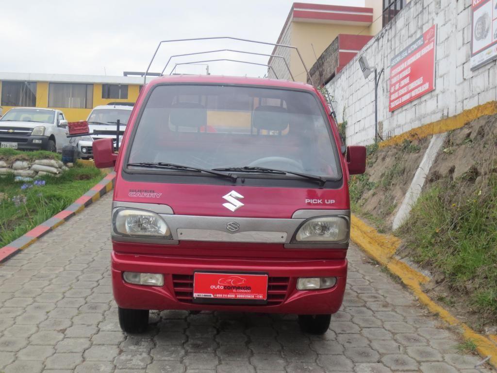 hermosa camioneta super carry del 2011 unico dueño placas pichincha con 36000 km cambio financiamiento