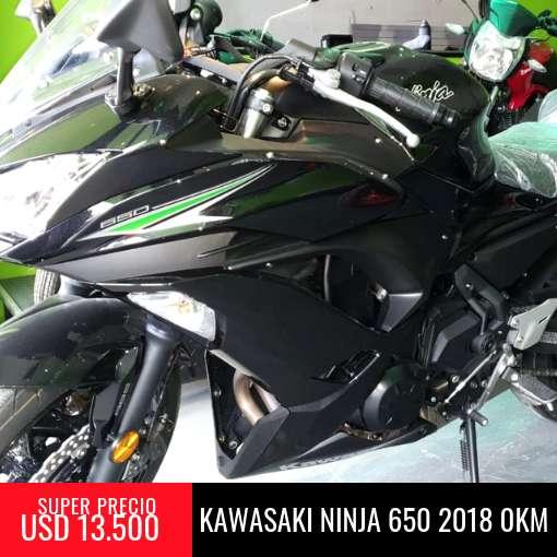 Kawasaki Ninja 650 Okm 2018 - Super Oferta Contado!