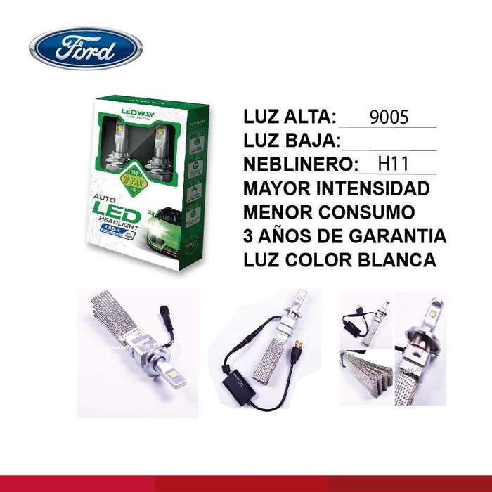 LUCES LEDPARA <strong>ford</strong>
