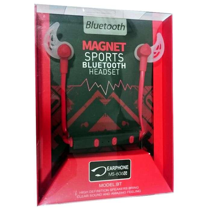 VENDO AURICULARES BLUETOOTH Magníficos auriculares tipo bluetooth compatible con todos los dispositivos 606G