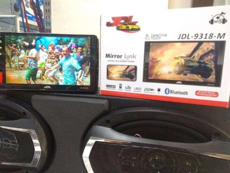 Radio para carro 7 pulgadas MIRROR LINK reproducción de video por USB o micro SD
