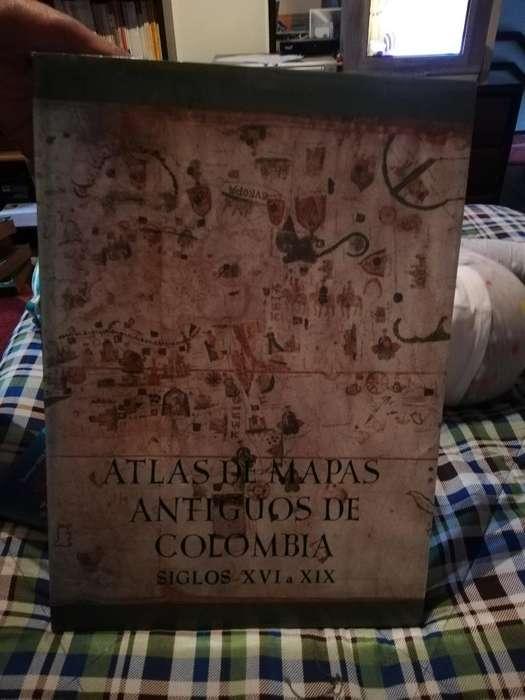 Atlas de Mapas <strong>antiguos</strong> de Colombia
