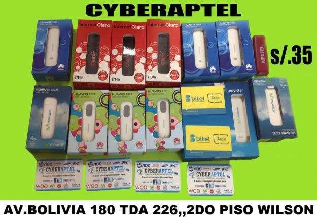 MODEM USB BITEL 3G LIBERADOS