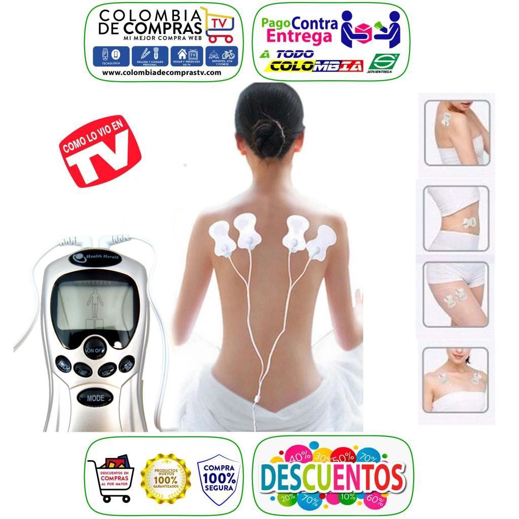 Gimnasia Pasiva Tv Digital 8 Electrodos Doble Salida Nuevas, Originales, Garantizadas