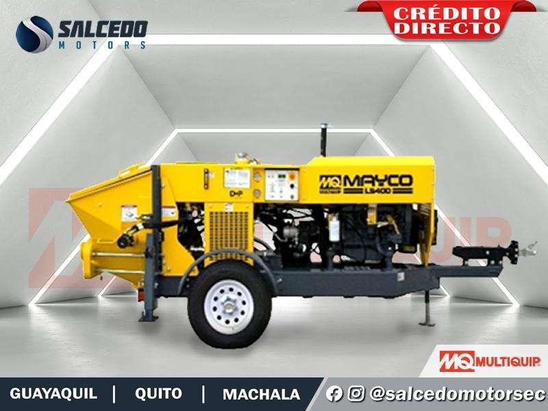 BOMBA DE HORMIGON MULTIQUIP MAYCO LS400