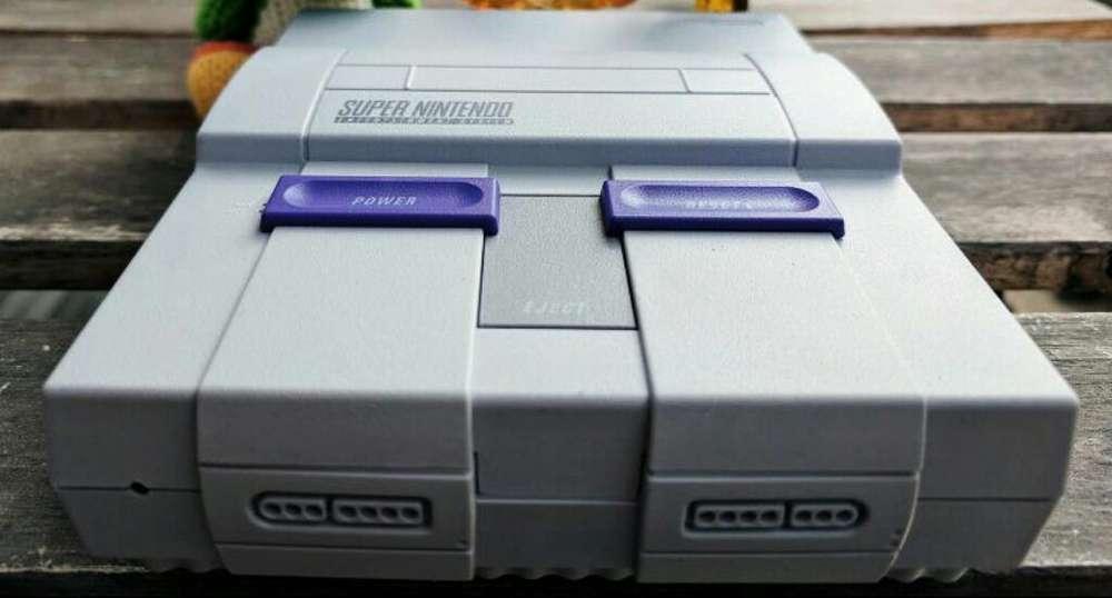 Super Nintendo con Accesorios Originales