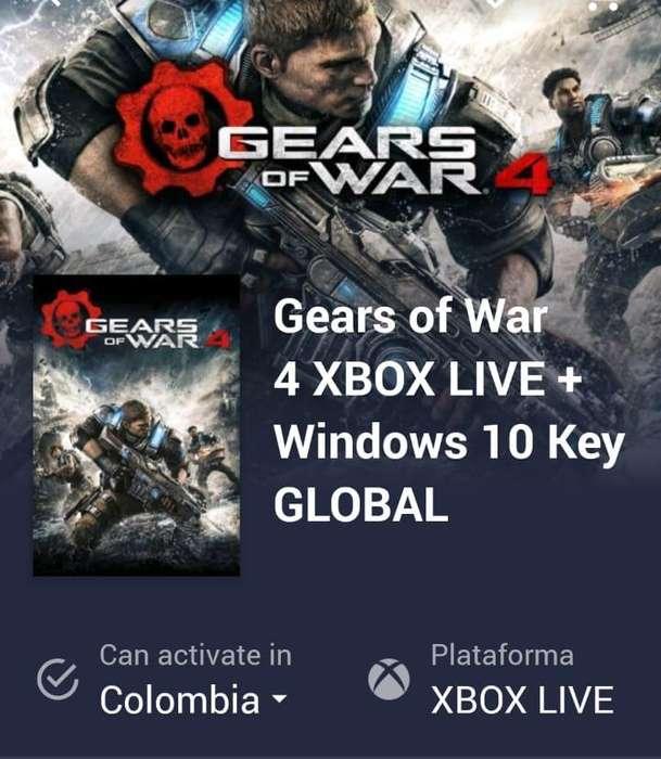 Código del juego Gears of WAR 4.