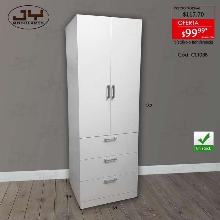 Armarios, Closets, 2 modelos, Oferta Promoción. JY Modulares